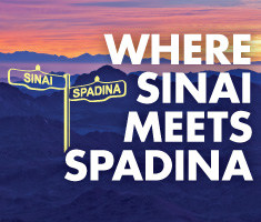 Where Sinai meets Spadina