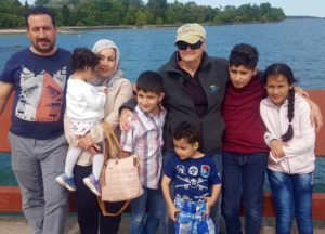 Mohammed Family at Centre Island